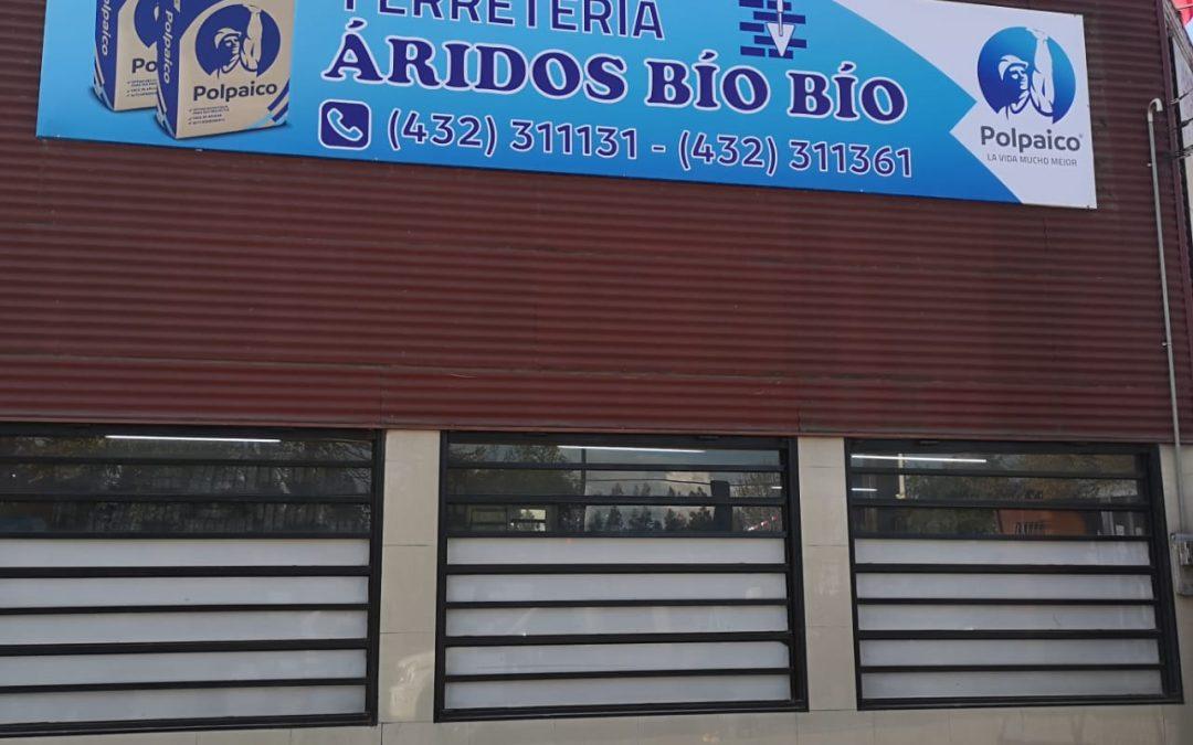 Aridos Bío Bío Tela PVC