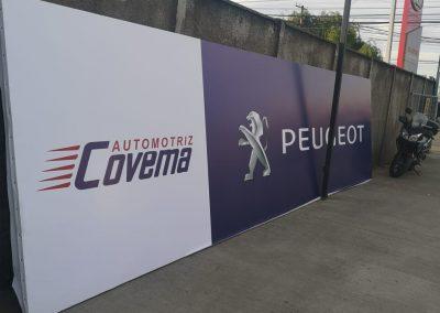 Peugeot Tela PVC
